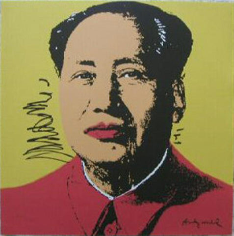 Andy WARHOL Mao Zedong signed limited edition prints