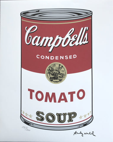 Andy WARHOL Campbell's Soup lithographs
