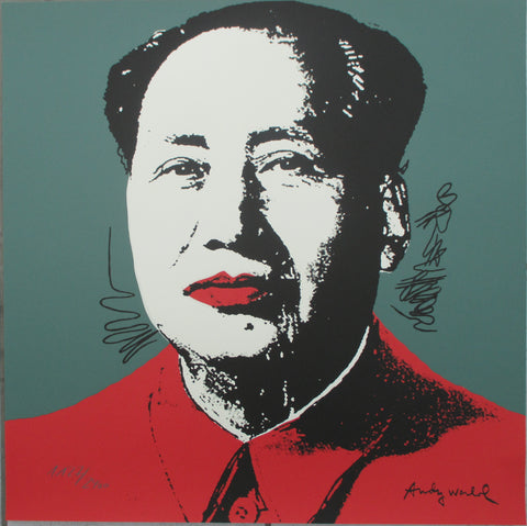 Andy Warhol Mao lithograph signed numbered edition