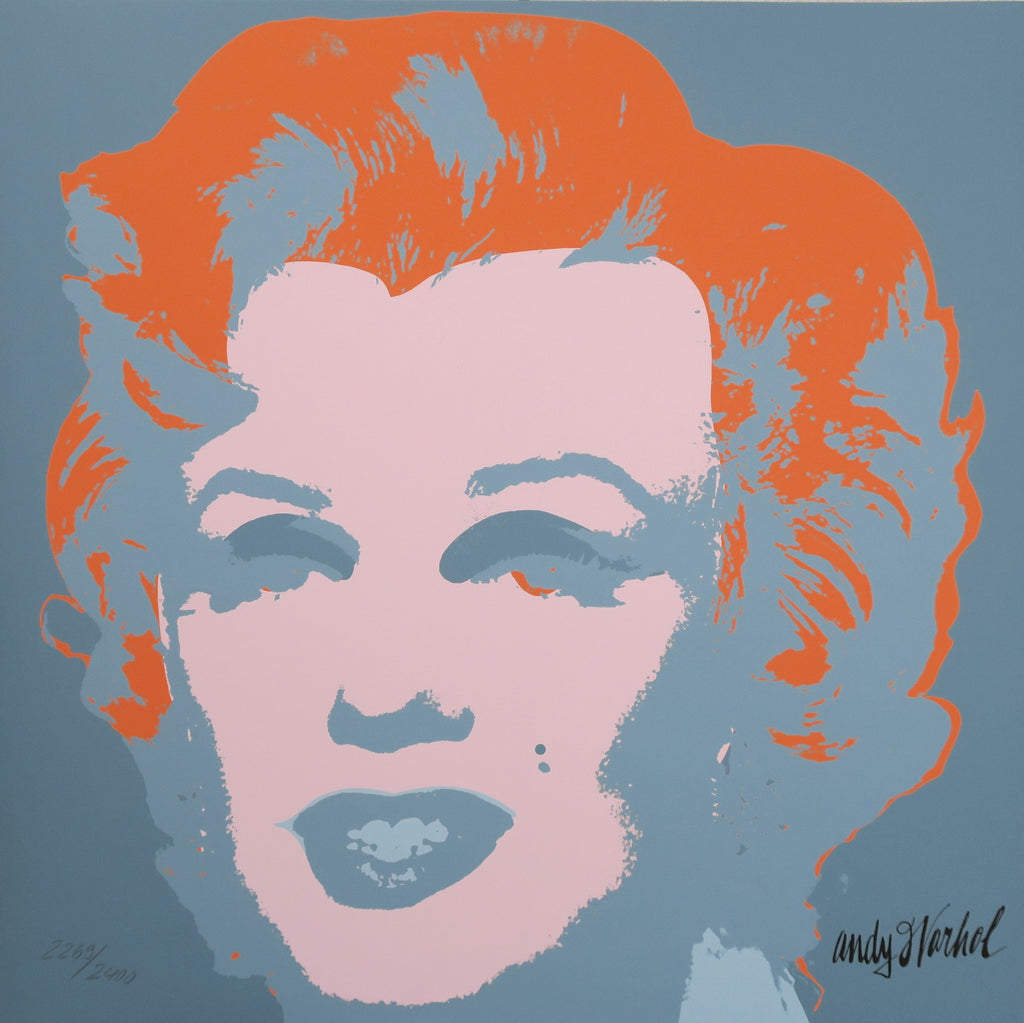 Andy Warhol Marilyn Monroe signed print authenticated limited edition -  Andy WARHOL lithographs newPOPart Gallery