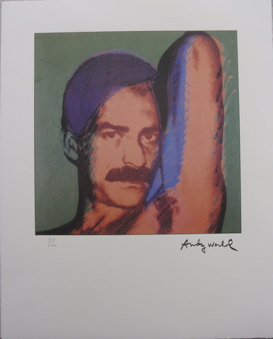 Andy Warhol Portraits Victor Hugo limited edition  lithographs