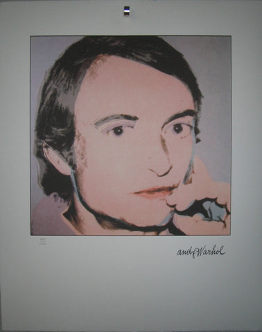 Andy Warhol Portraits Roy Lichtenstein limited edition  lithographs