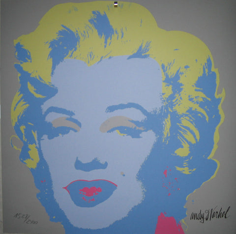 Andy Warhol Marilyn Monroe lithography signed numbered authenticated limited edition print