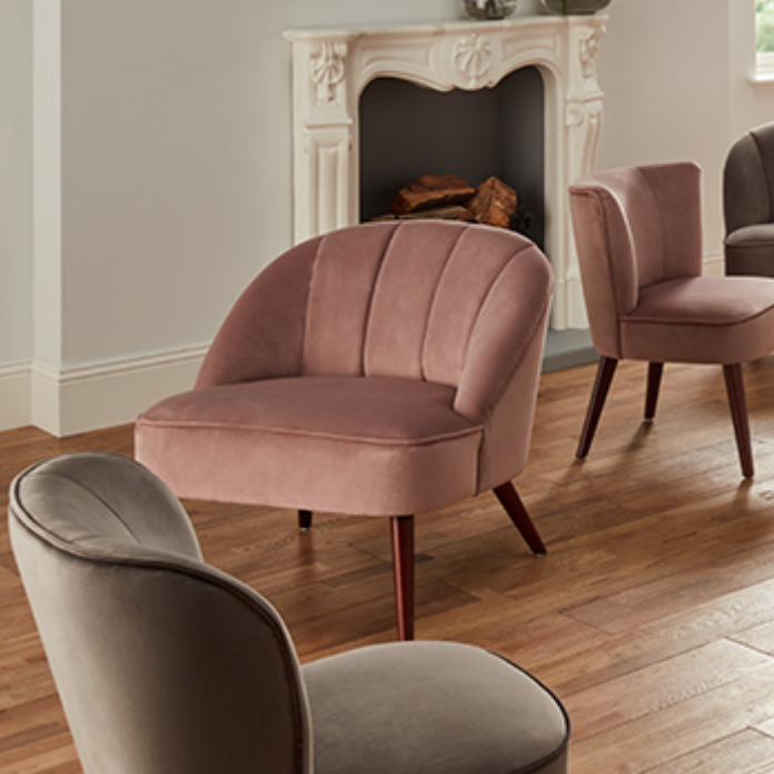 Accent Chairs & Pouffes