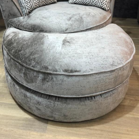 Half Moon Footstool - Colour Option