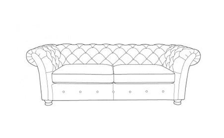 The Cavendish Collection 3 Seater Sofa