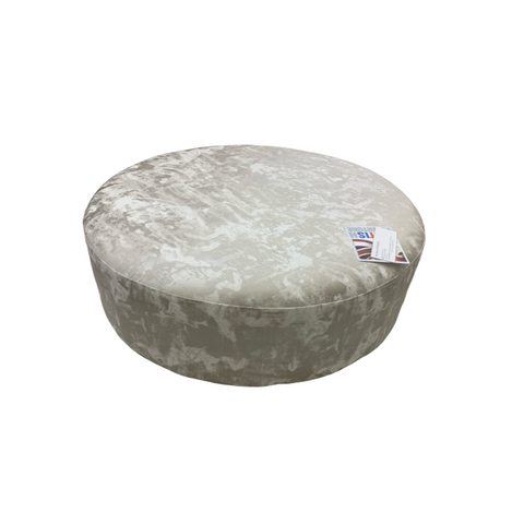The Arc Collection Round Footstool
