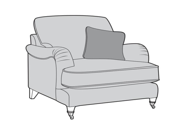 The Beatrix Collection Love Seat