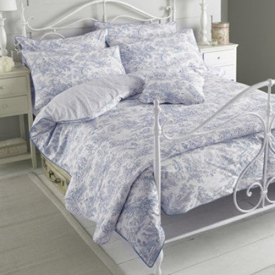 Toile French Bed Spread