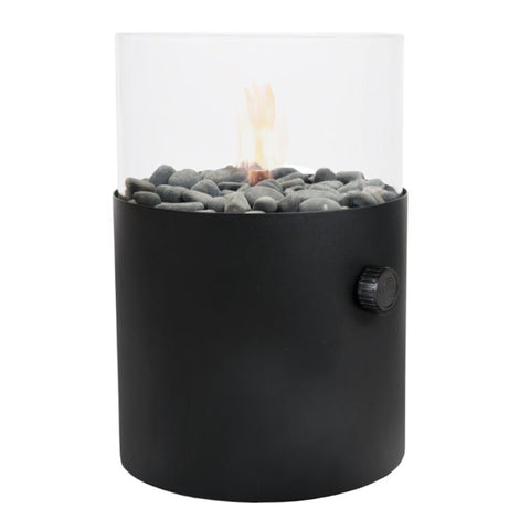 Extra Large Fire Lantern in Black