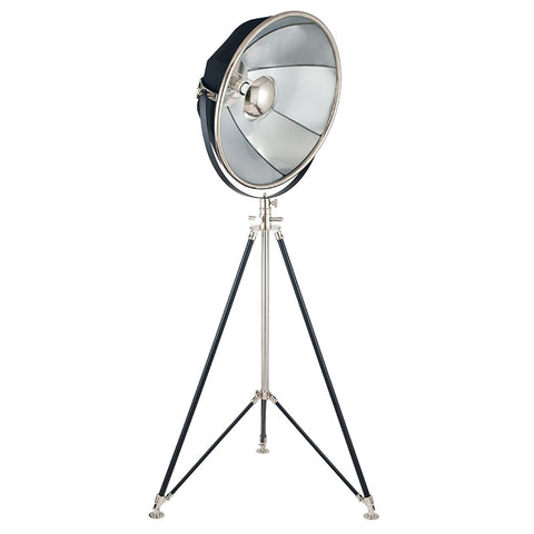 Hollywood Tripod Floor Lamp - Silver