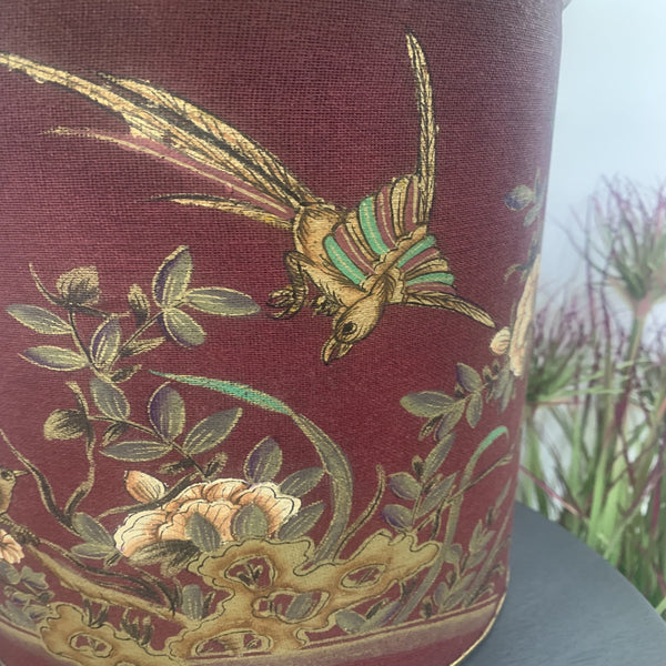 Vintage Bird Tall Table Lamp