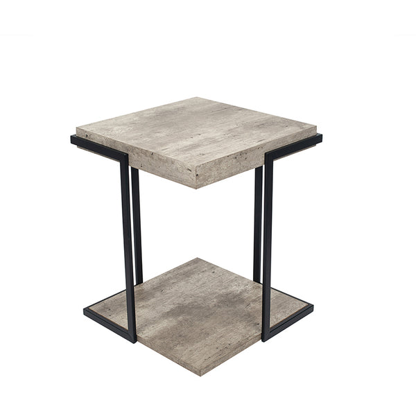Jetson Collection Concrete Effect Sidetable