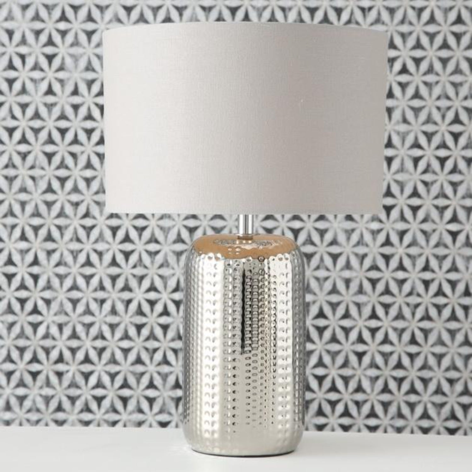 Larson Table Lamp with Natural Linen Shade