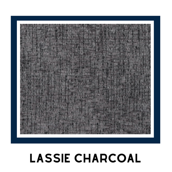 Arriving Feb! Lorna Collection 3&2 Seater - Lassie Charcoal