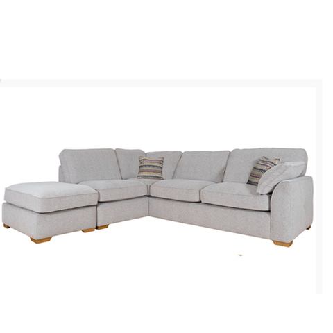 The Lorna Collection Corner Chaise & Footstool (Left Facing Corner)