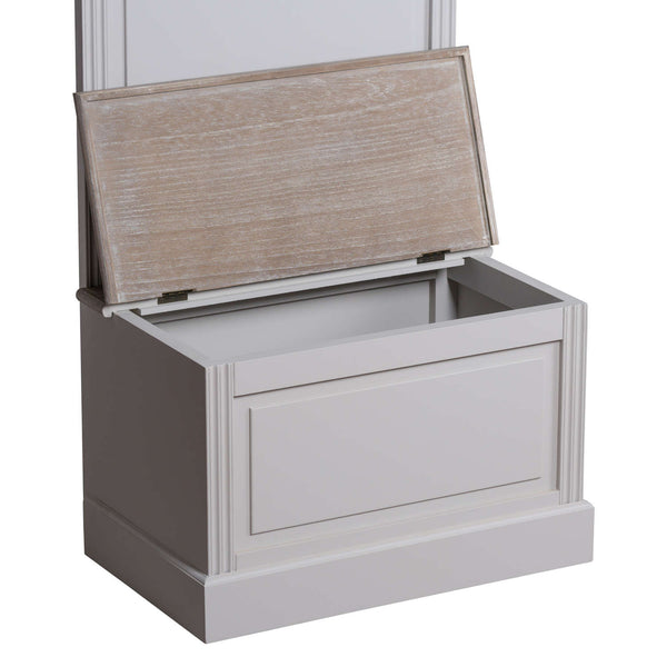 Liberty Collection Settle with Storage Chest