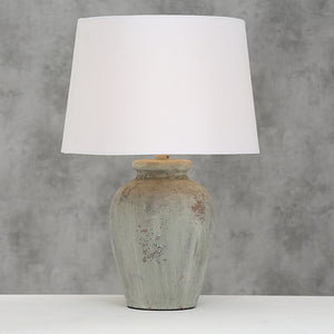 Luton Natural Stoneware Table Lamp