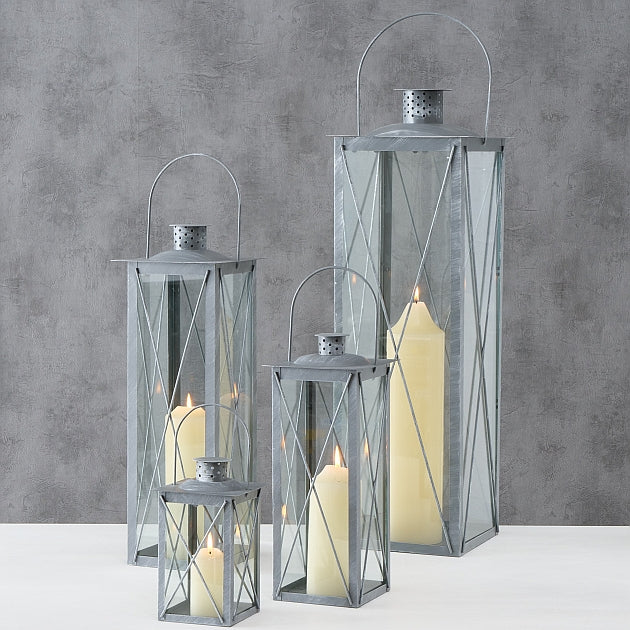 Melody Set of 4 Iron Lanterns