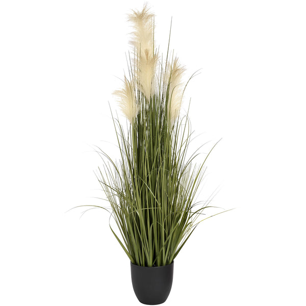 Artificial Tall Potted Pampas Grass Bush