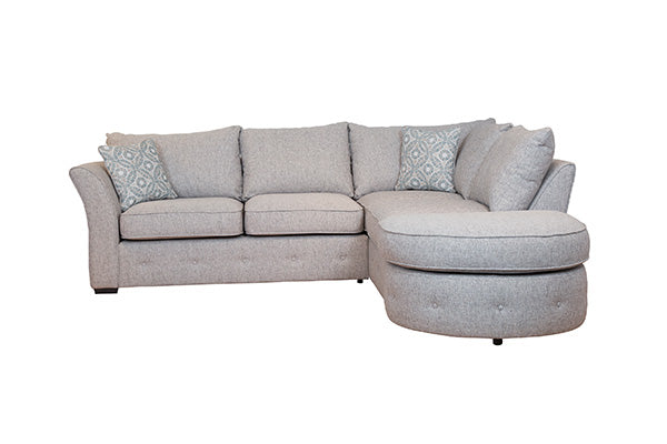 The Sienna Collection Corner Chaise & Footstool (Right Facing)