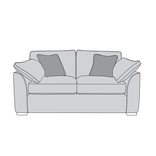 The Lorna Collection 2 Seater Sofa