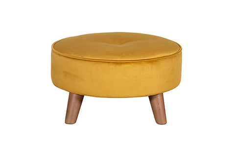 The Malo Collection Round Footstool