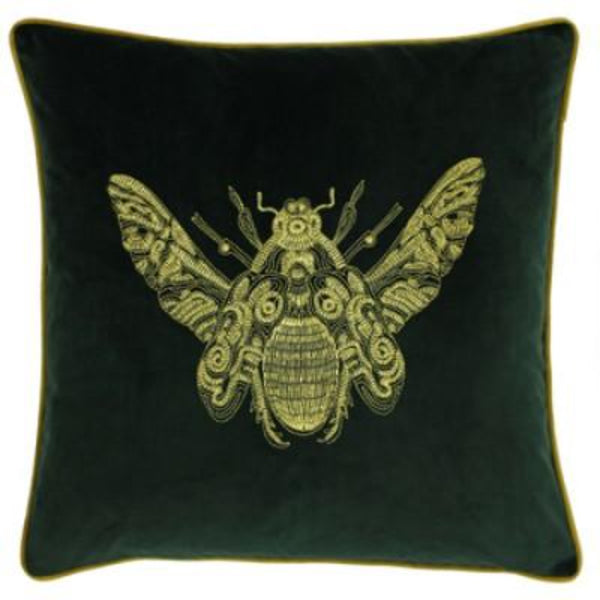 Bumble Velvet Cushion - Colour option