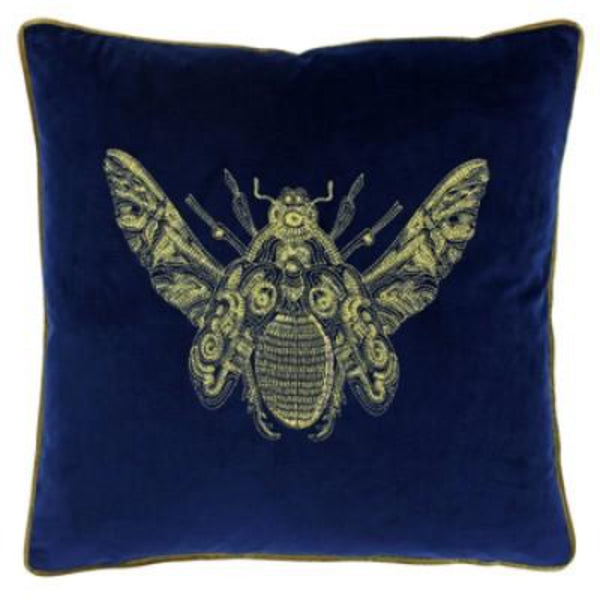 Bumble Bee Velvet Cushion - Colour option