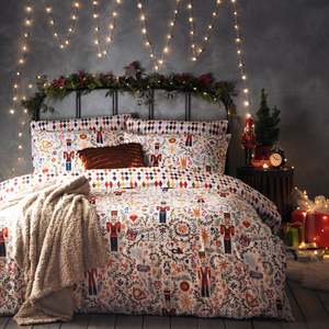 Nutcracker Christmas Bedding Set
