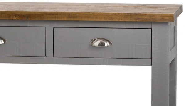 The Helmsley Collection Three Drawer Console Table