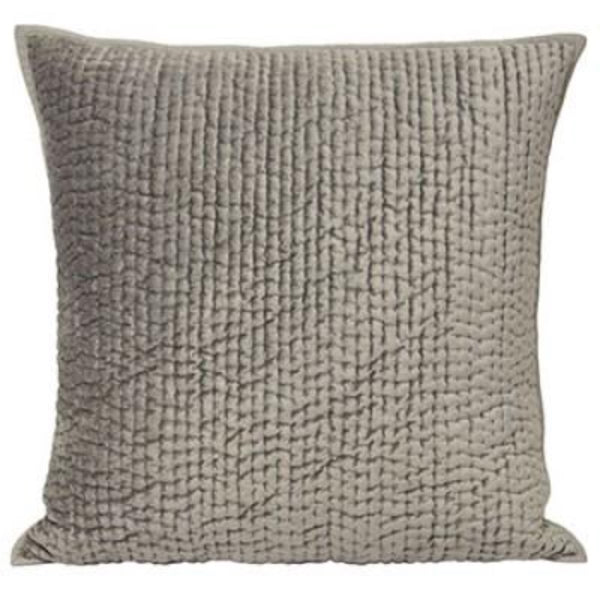 Brooklands Pillow - Silver