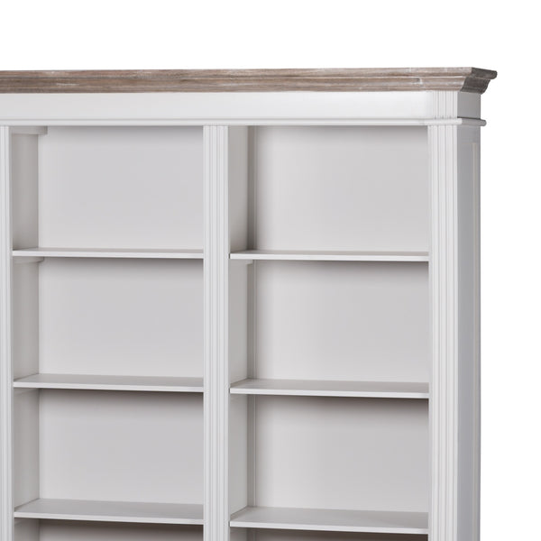 Liberty Collection Large 3 Drawer Display Bookcase