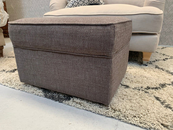 Ex Display Mocha Champ Collection Storage Footstool - Express Delivery
