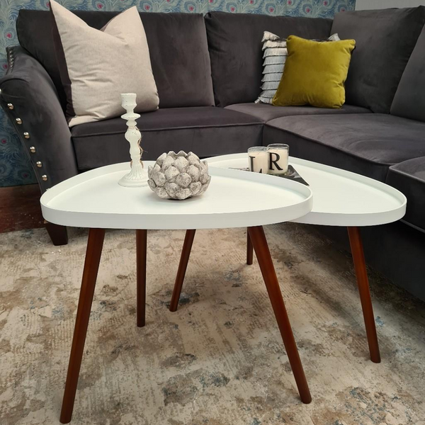 Tear Drop Coffee Table (3 Colours)