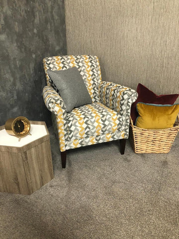 Arriving Feb! York Accent Chair - Nikon Gold