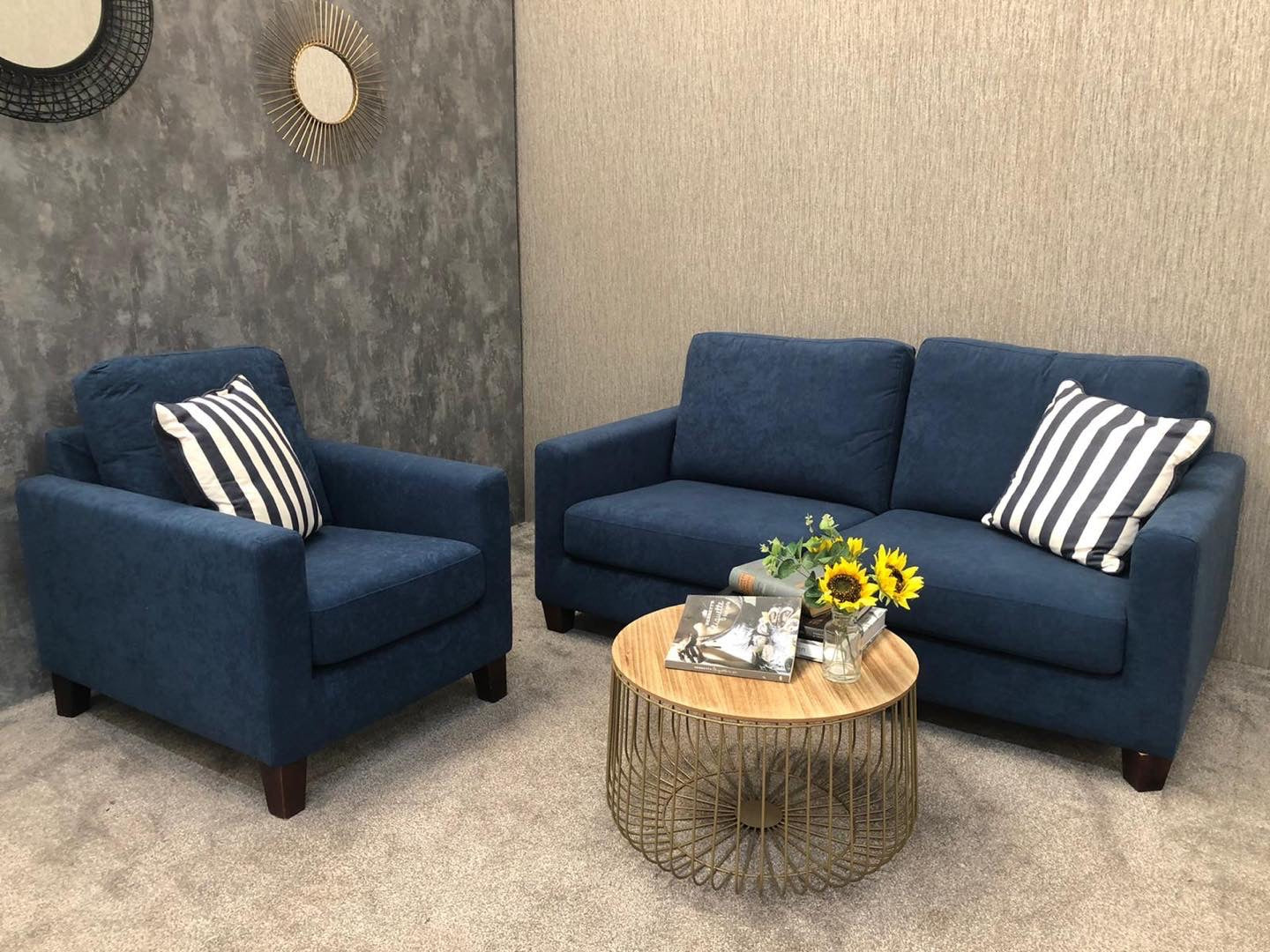 Ex Display Bailey 3 Seater & Armchair Set