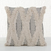 Linen Ruffle Cushion