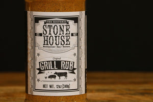 Stone House Grill Rub (12 oz)
