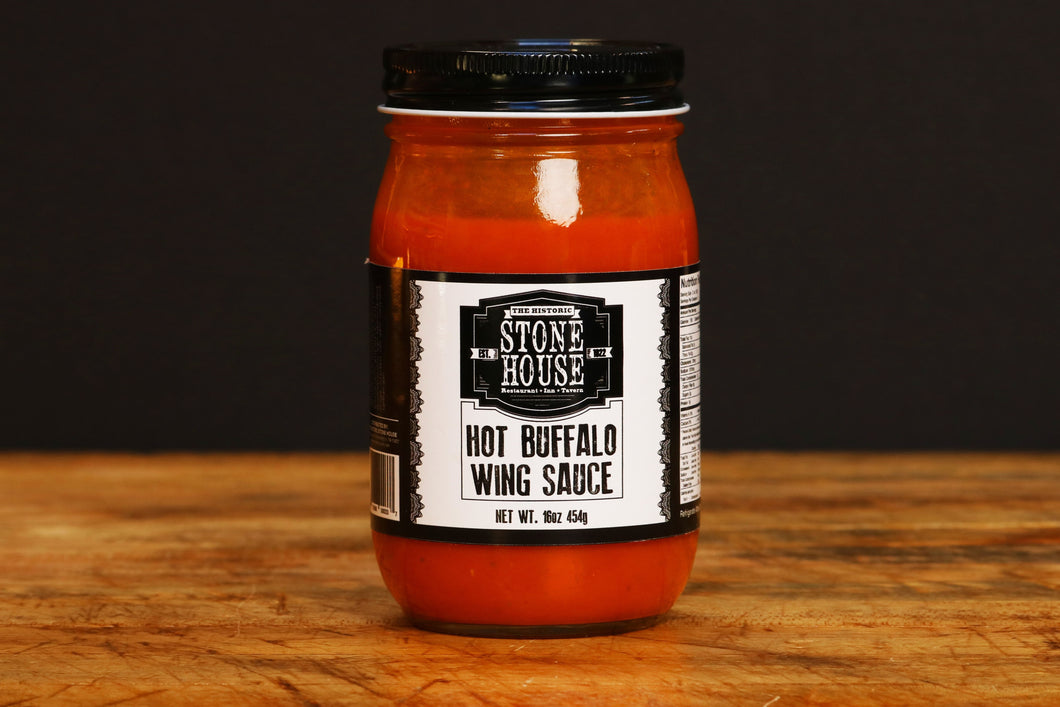 Stone House Hot Buffalo Wing Sauce (16 oz)