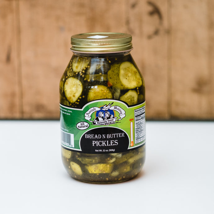 Bread & Butter Pickles (32 oz)