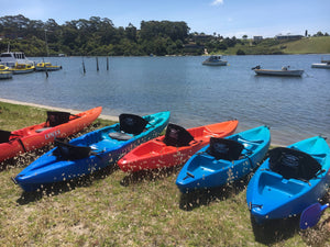 2 Hour Gear Hire - Bike, Kayak or SUP