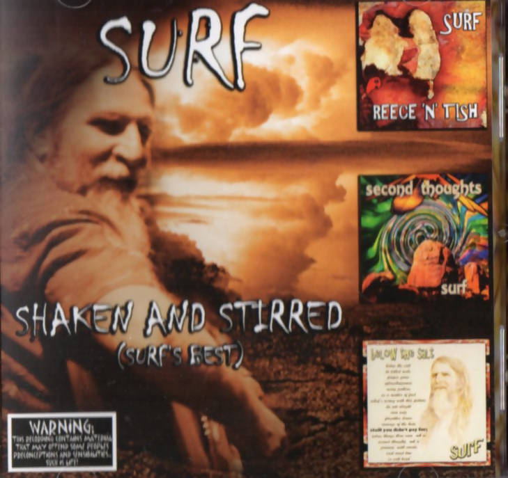 VIRTUAL CD- SURF - SHAKEN AND STIRRED