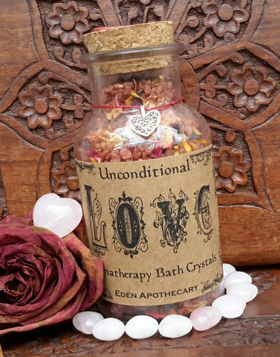 Love Alchemy | Aromatherapy Botanical Bath Soak Crystals
