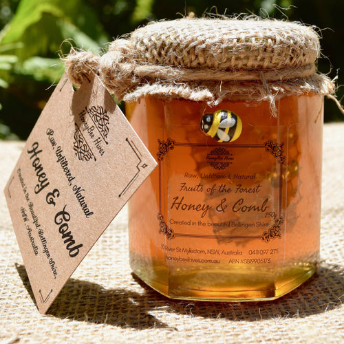 Artisan Honey: Raw, unfiltered & delicious honey with added honeycomb
