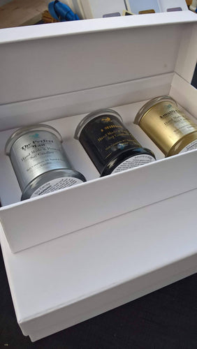 Virtual gift pack soy candle trio