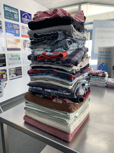 Virtual 22kg Wash, Dry and Fold