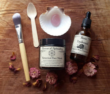 Load image into Gallery viewer, Love Thyself Organic Botanical Facial Care Pack | Cleanse ~ Exfoliate ~ Mask