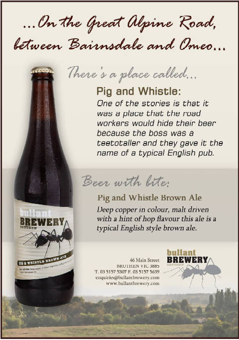 Pig and Whistle Brown Ale - Pot (285ml)