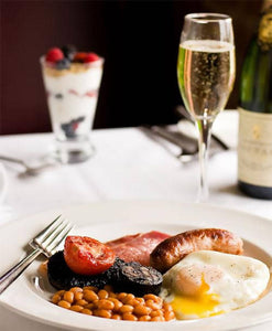 Champagne breakfast for 2 (virtual)